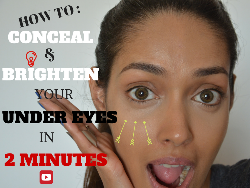 How to hide sunken eyes with makeup