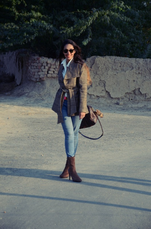 The winter wrap jacket trend
