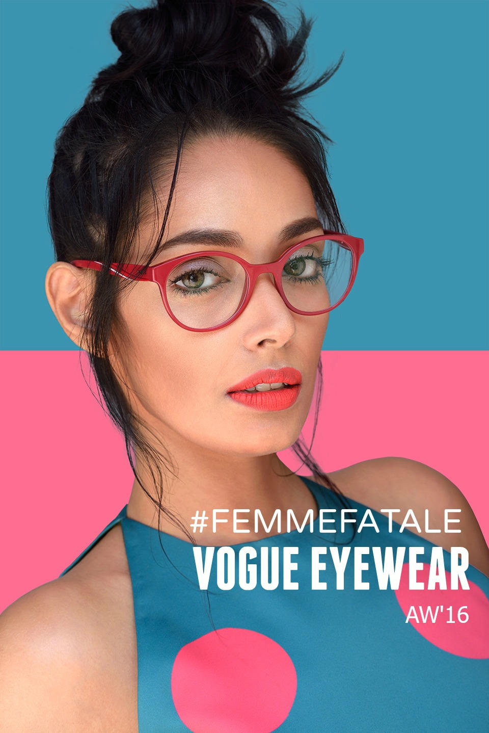 Jas Sagu Blogger - Vogue eyewear